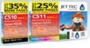 Jettec PG 510 Back & CL51 Colour Ink Multipack Cartridges
