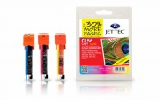 Jettec CL526 C,M,Y Canon Multi-Pack Cartridges