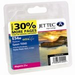 Jet Tec E54M Epson Magenta Ink Cartridge