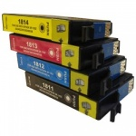 CVB Media Compatible EPSON T1815 18XL High Capacity 4 Colour Multipack Ink Cartridges