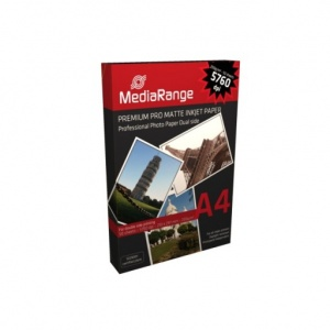 MediaRange A4 Matte Double Sided Photo Paper 200gsm (50 Pack)