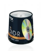 TDK Branded 16 x DVD-R (50 Pack)