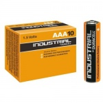 10x Duracell Industrial LR03 AAA Batteries 1.5v