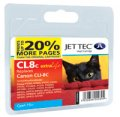 Jet Tec CL8C Canon CLI-8 Cyan Ink Cartridge