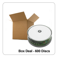 MediaRange 16x Blank DVD-R White Printable - 600 Discs Box Deal