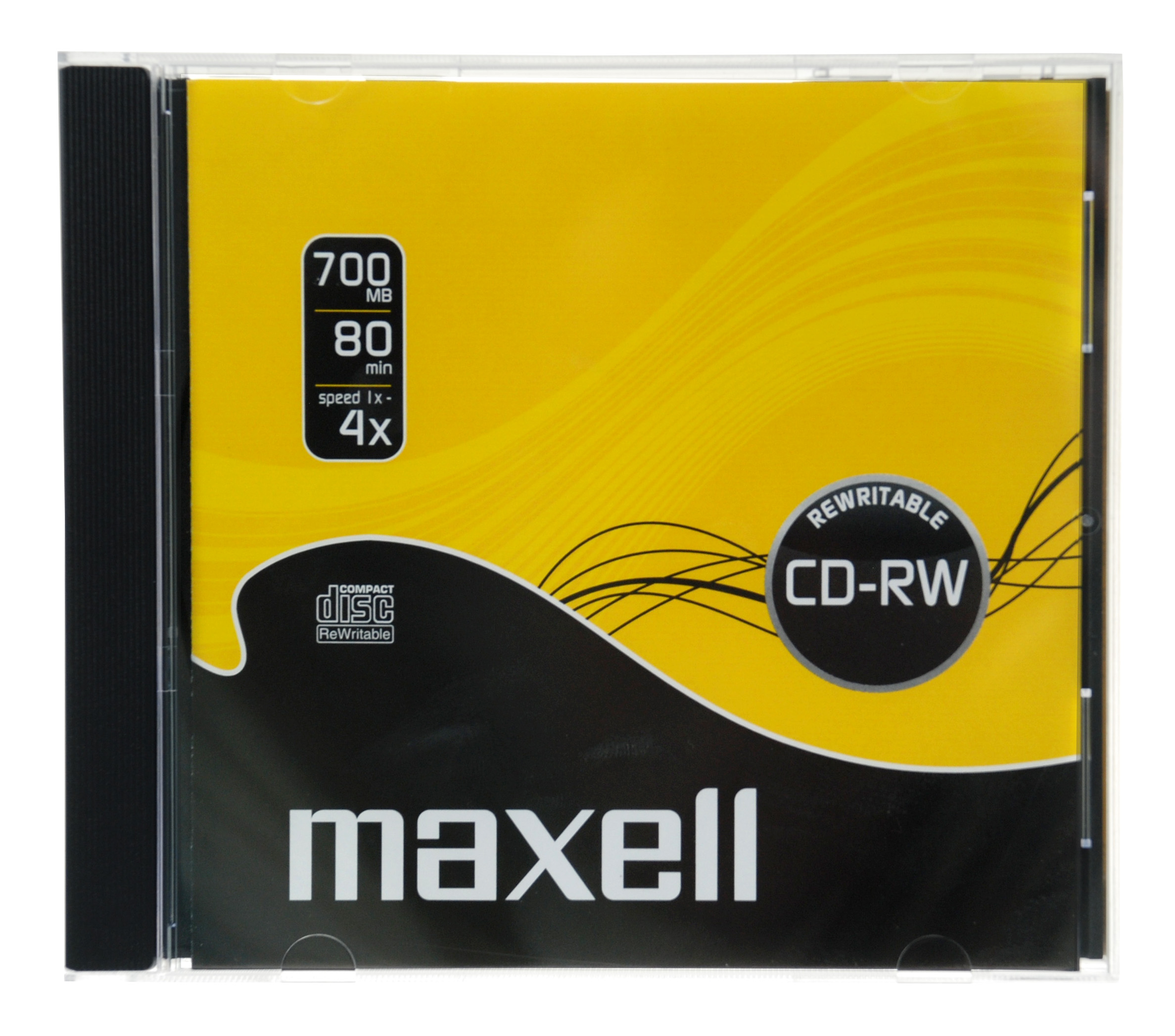 maxell cd rw rewritable in jewel case single disc. Black Bedroom Furniture Sets. Home Design Ideas