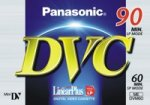 Panasonic Mini DV Video Camera CAMCORDER Tapes DVM