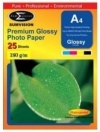 SUMVISION A4 180 GSM GLOSS INKJET PHOTO PAPER - 25 SHEETS