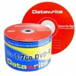 Datawrite Branded (RED) 16x DVD-R- 50 Pack