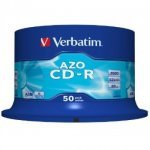 Verbatim 43343 Azo CD-R80 52x 50 Pack Spindle