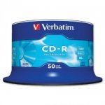 Verbatim CD-R 52x Extra Protection 50pk Spindle