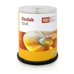 Kodak CD-R Branded 52x - 100 Spindle Pack