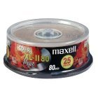 25x Pack -Maxell XL-II Digital Audio CD-R 52x - 700Mb