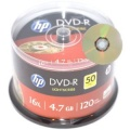 HP Lightscribe DVD-R 16x 4.7Gb - 50 Pack