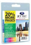 Jet Tec H23 (HP 23) Remanufactured Colour Cartridge