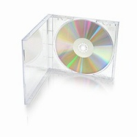High Grade Single CD Jewel Case With Clear Tray - 50 Pack