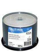Falcon 'Smart Guard' Glossy White Full Face Inkjet Printbale 52x CD-R - 50 Tub