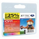 Jettec CL 511 Colour Ink Cartridge