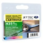 Jettec Remanufcatured HP351XL High Capacity Colour Cartridge