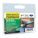 Jettec Remanufcatured HP350XL High Capacity Black InkJet Cartridge