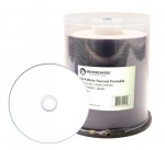 Microboards White Thermal Full Face Printable Blank CD-R 52x - 100 Spindle
