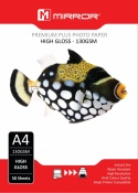 Mirror A4 130gsm Gloss Photo Paper (50 Pack)