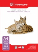 Mirror A4 140gsm Matt Photo Paper 100 Pack