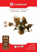 Mirror A4 150gsm Gloss Photo Paper (50 Pack)