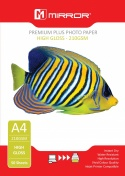 Mirror A4 210gsm Gloss Photo Paper (50 Pack)