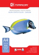 Premium Mirror A4 260gsm Gloss Photo Paper 50 Pack