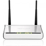 Tenda - 802.11N 300MPBS ADSL2+ 4PORT AP/ROUTER