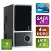 Desktop PC  - i3 3.1GHz DC 4GB RAM 1TB HDD Windows 7 HP64