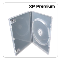 XP Premium Grade 14mm Clear Single DVD Cases - 50 Pack