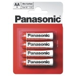 Panasonic AA Batteries (4 Pack) FREE When You Spend �20 or More On Blank Media & Cases