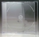 Maxi Single Clear Slim-Line CD Jewel Case - 10 Pack