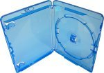 AMARAY Single 14mm Blu-Ray Disc Cases - 50 Pack