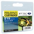 Jet Tec E19 Epson (T019 Black) Compatible Black Cartridge