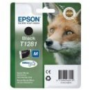 T1281 Epson Fox genuine Black Cartridge