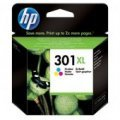 HP301 High Capacity XL Tri-colour Inkjet Cartridge