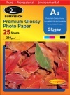 SUMVISION A4 230 GSM GLOSS INKJET PHOTO PAPER - 25 SHEETS