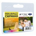 Jet Tec L1 (Lexmark 1) Remanufactured Colour Cartridge