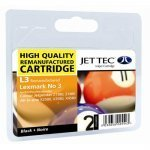 Jet Tec L3 (Lexmark 3) Remanufactured Black Cartridge