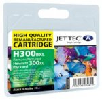 Jettec 300XL High Capacity Black Inkjet Cartridge (H300BXL )