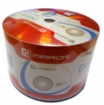 Mirror Blank CD-R 52x Branded Surface - 50 Stack