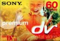 Sony Digital Video Cassette Premium DVM-60-PR Mini DV (5 Pack)