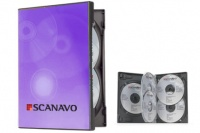 Scanavo Black 5 Disc Overlap DVD Cases - (Single Case)
