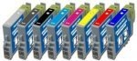 CVB Media Compatible Epson T0540 to T0549 Multi Pack - 8 x Ink Cartridges