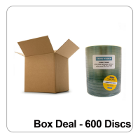 Taiyo Yuden CD-R 48x White Inkjet Printable - Box Deal 600 Discs
