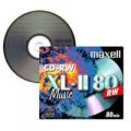 10x Pack -Maxell XL-II 80 Digital Audio CD-RW Rewritable