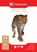 Mirror A4 128gsm Matte Photo Paper (100 Pack)